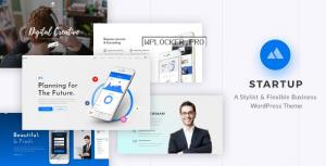 StartUp v2.1 – Responsive Multi-Purpose WordPress Theme