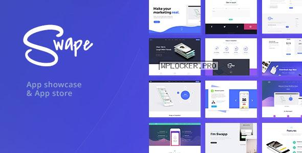 Swape v1.7.1 – App Showcase & App Store Theme
