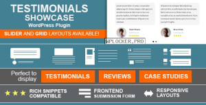 Testimonials Showcase v1.9.9.7 – WordPress Plugin