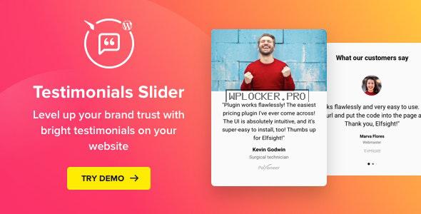 Testimonials Slider v1.5.0 – WordPress Testimonials Plugin