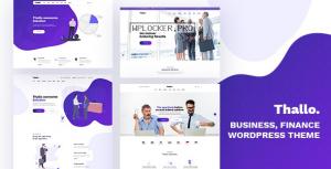 Thallo v1.0.4 – Consulting & Finance WordPress Theme