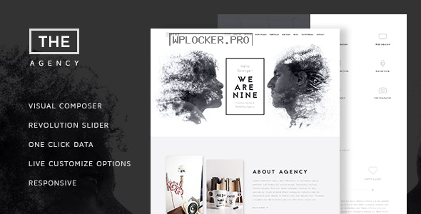 The Agency v1.7 – Creative One Page Agency Theme