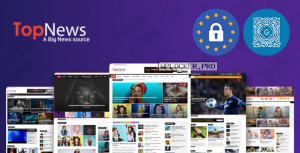 TopNews v3.3.5 – News Magazine Newspaper Blog Viral & Buzz WordPress Theme