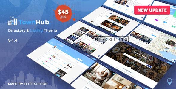 TownHub v1.4.0 – Directory & Listing WordPress Theme