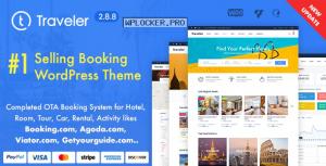 Traveler v2.8.8 – Travel Booking WordPress Theme