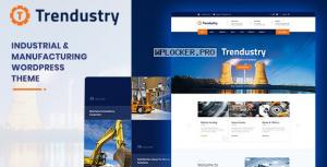 Trendustry v1.0.6 – Industrial & Manufacturing WordPress Theme