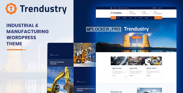 Trendustry v1.0.6 – Industrial & Manufacturing WordPress Theme