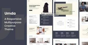 Umda v1.0.8 – Responsive Multipurpose Creative Theme