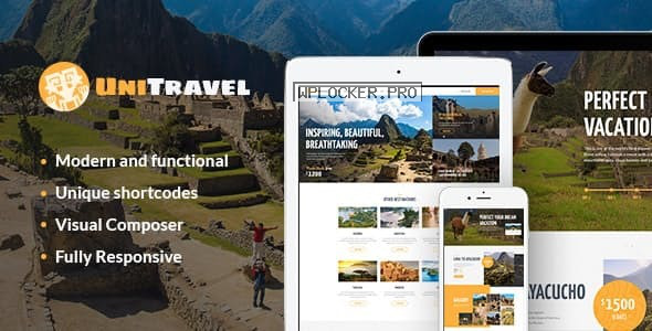 UniTravel v1.2.3 – Travel Agency & Tourism Bureau WordPress Theme
