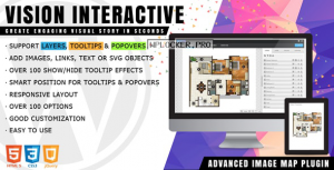 Vision Interactive v1.4.0 – Image Map Builder for WordPress