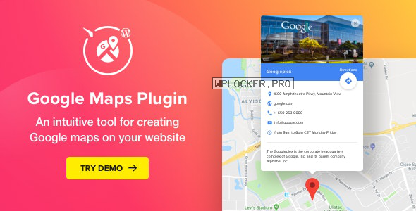 WP Google Maps v2.3.0 – Map Plugin for WordPress
