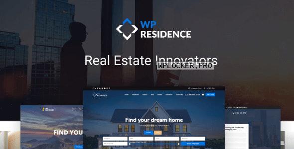 WP Residence v3.4 – Real Estate WordPress Theme