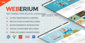 Weberium v1.11 – Theme Tailored for Digital Agencies