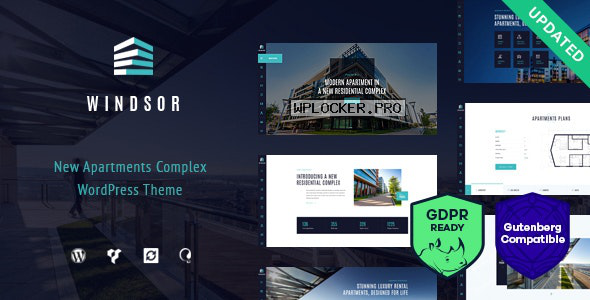 Windsor v1.8.4 – Apartment Complex / Single Property WordPress Theme