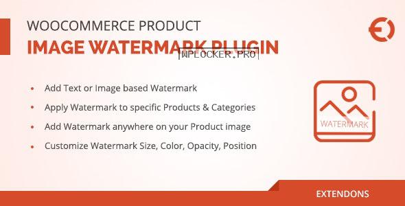 WooCommerce Product Image Watermark Plugin v1.0.7