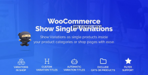 WooCommerce Show Variations as Single Products v1.1.22
