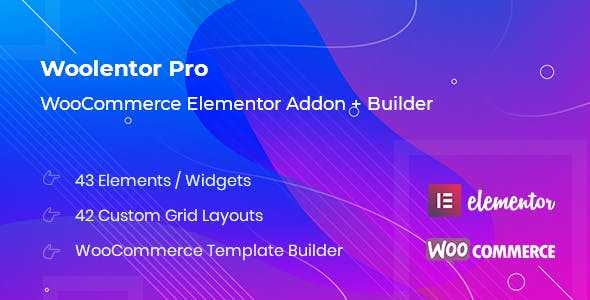 Woolementor Pro v1.5.1 – Connecting Elementor with WooCommerce