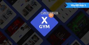 X-Gym v1.4 – Fitness WordPress Theme for Fitness Clubs