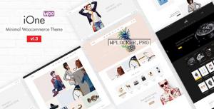 iOne v3.0.1 – Minimal Responsive WooCommerce Theme