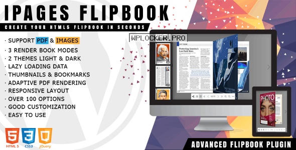 iPages Flipbook For WordPress v1.3.7