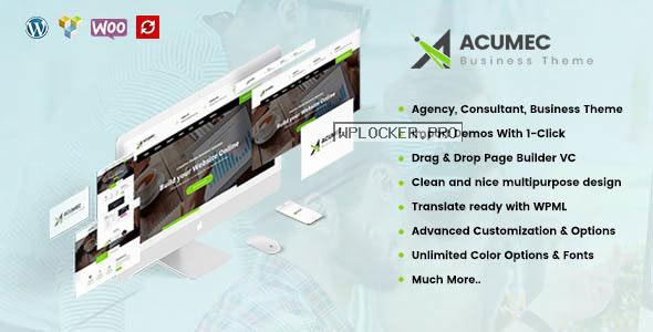 Acumec v1.4 – Business Multipurpose WordPress Theme