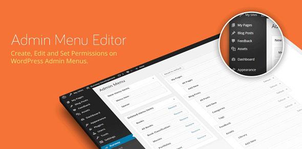 Admin Menu Editor Pro v2.15 + Addons