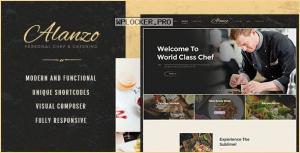 Alanzo v1.0.4 – Personal Chef & Catering WordPress Theme