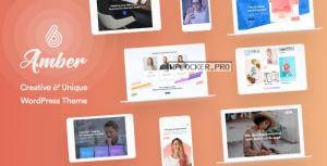 Amber Six v1.6 – Creative and Multipurpose WordPress Theme