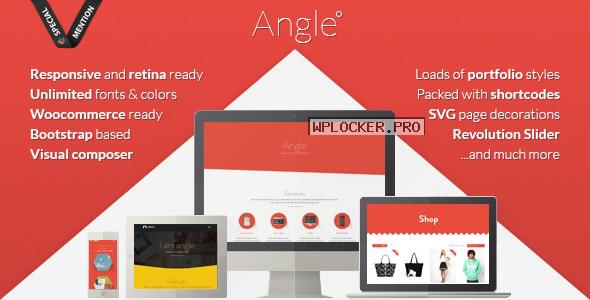 Angle v1.18.17 – Flat Responsive Bootstrap MultiPurpose Theme