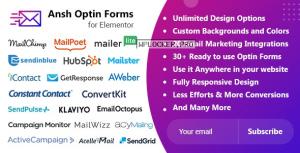 Ansh v2.0.0 – Optin Forms For Elementor