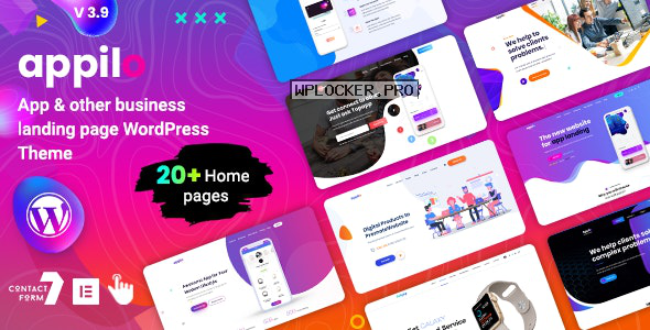 Appilo v3.9 – App Landing Page