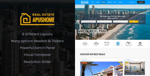 ApusHome v1.7.10 – Real Estate WordPress Theme