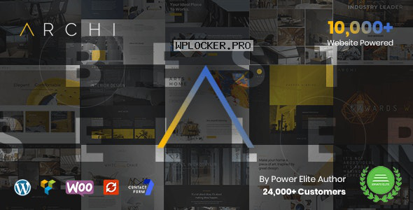 Archi v4.3.5.2 – Interior Design WordPress Theme