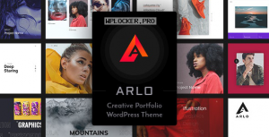Arlo v2.8 – Portfolio WordPress Theme