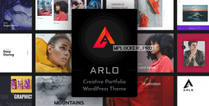 Arlo v3.1 – Portfolio WordPress Theme