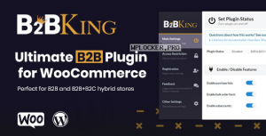 B2BKing v2.5.0 – The Ultimate WooCommerce B2B & Wholesale Plugin