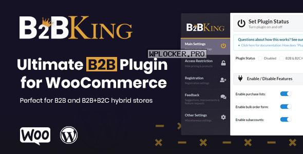 B2BKing v2.5.0 – The Ultimate WooCommerce B2B & Wholesale Plugin