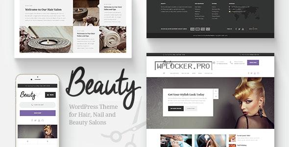 Beauty v1.6.3 – Hair Salon, Nail, Spa, Fashion WP Theme