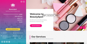 BeautySpot v3.3.7 – WordPress Theme for Beauty Salons