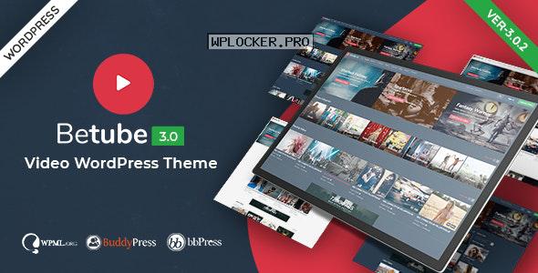 Betube v3.0.2 – Video WordPress Theme
