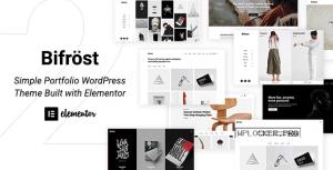 Bifrost v2.1.4 – Simple Portfolio WordPress Theme