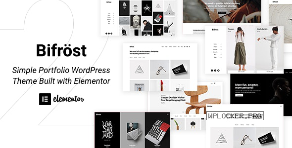 Bifrost v2.1.4 – Simple Portfolio WordPress Theme