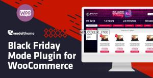 Black Friday / Cyber Monday Mode for WooCommerce v1.7
