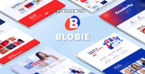 Blobie v1.3 – Multiconcept Creative WordPress Theme