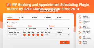 Bookly Booking Plugin v18.7 + Addons Pack
