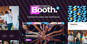 Booth v1.1 – Event and Conference Theme