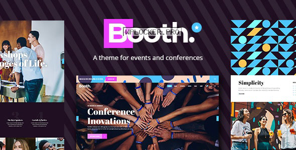Booth v1.1.1 – Event and Conference Theme
