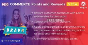 Bravo v2.1.4 – WooCommerce Points and Rewards – WordPress Plugin