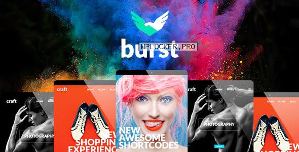 Burst v3.2 – A Bold and Vibrant WordPress Theme