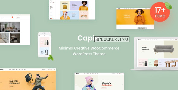 Capie v1.0.19 – Minimal Creative WooCommerce WordPress Theme